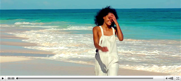Poetry fashion video Bahamas location