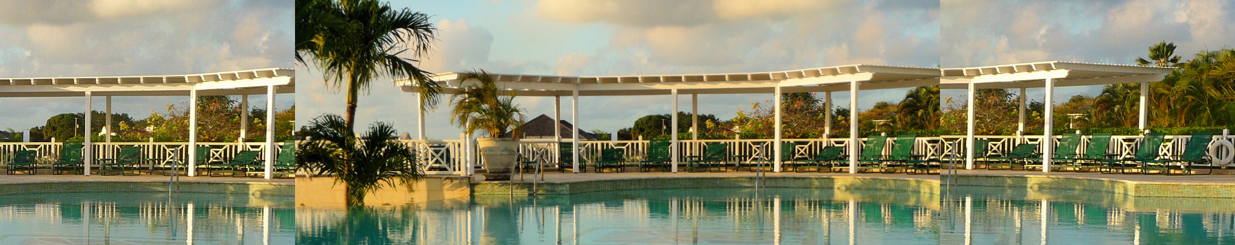 Swimming pool resort Barbados