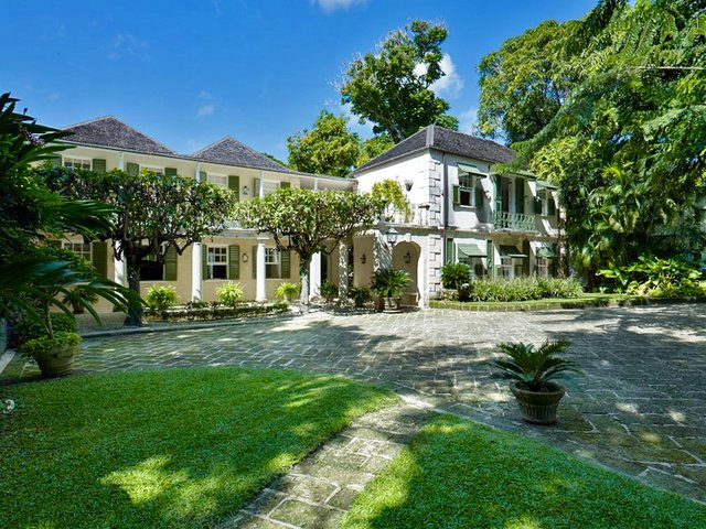Colonial luxury mansion Caribbean film location