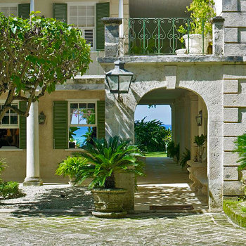 Colonial mansion location caribbean production
