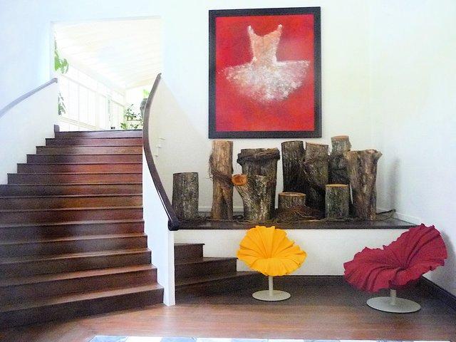 ... Modern House Interior On A Caribbean Island ...