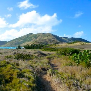 Rolling hills in St. Martin, French  Antilles for  TV shoot location