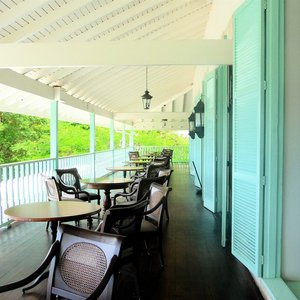 Plantation house veranda location
