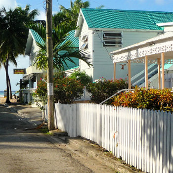 Street village locations caribbean