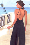 Barbados elegant Veranda Photo Location, KALEIDOSCOPE Fashion Catalog - Photos: Thomas Reutter