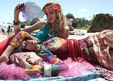 Hippie Style Caribbean Beach Photo Shoot, PETRA - Photos: Paul Westlake
